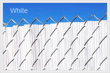 White 4ft Ridged Slat for Chain Link Fence by Supplier Generic