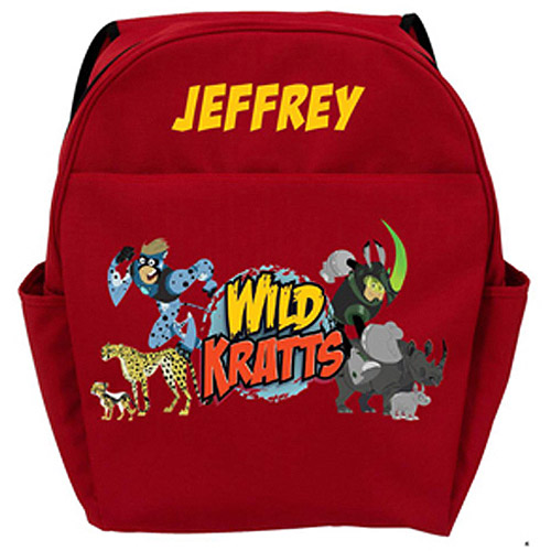 Personalized Wild Kratts Creature Adventure Backpack
