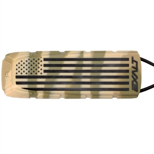 Exalt Paintball Bayonet Barrel Condom / Cover - LE Flag Series - USA Camo