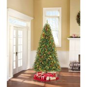 Holiday Time Pre-Lit 7.5' Kennedy Fir Artificial Christmas Tree, Multi Lights