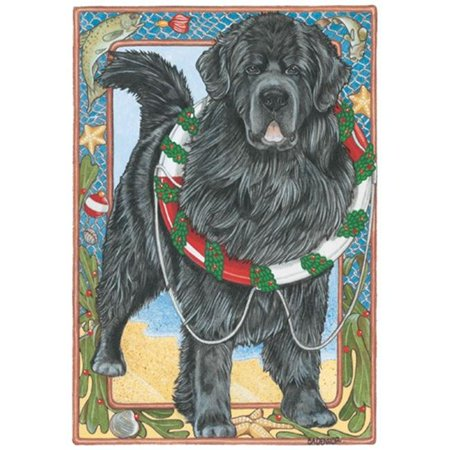 Pipsqueak Productions C966 Holiday Boxed Cards- Newfoundland