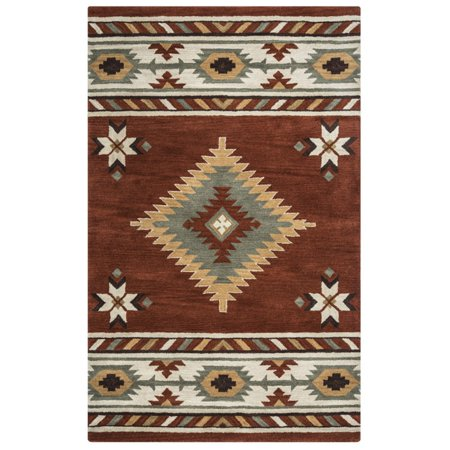Rizzy Home Southwest SU1822 Rug - (9 Foot x 12 Foot) - 12 Foot