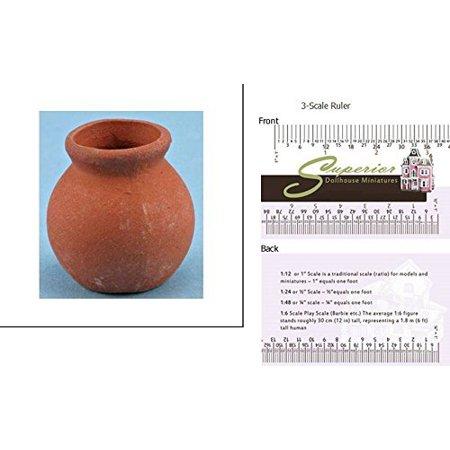 Dollhouse Miniature Clay Pot - image 2 de 2