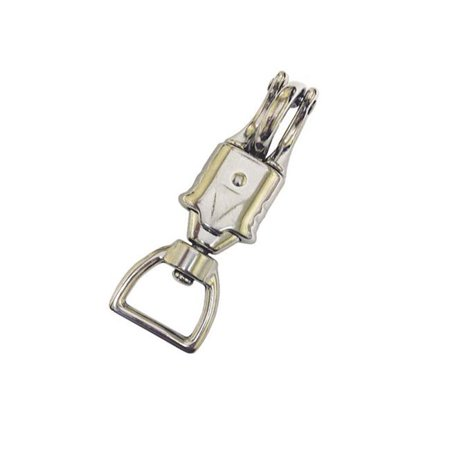 Jacks 2412-1-MAL 4.5 in. Panic Snap with 1 in. Square End - Nickel (Square One Mal)