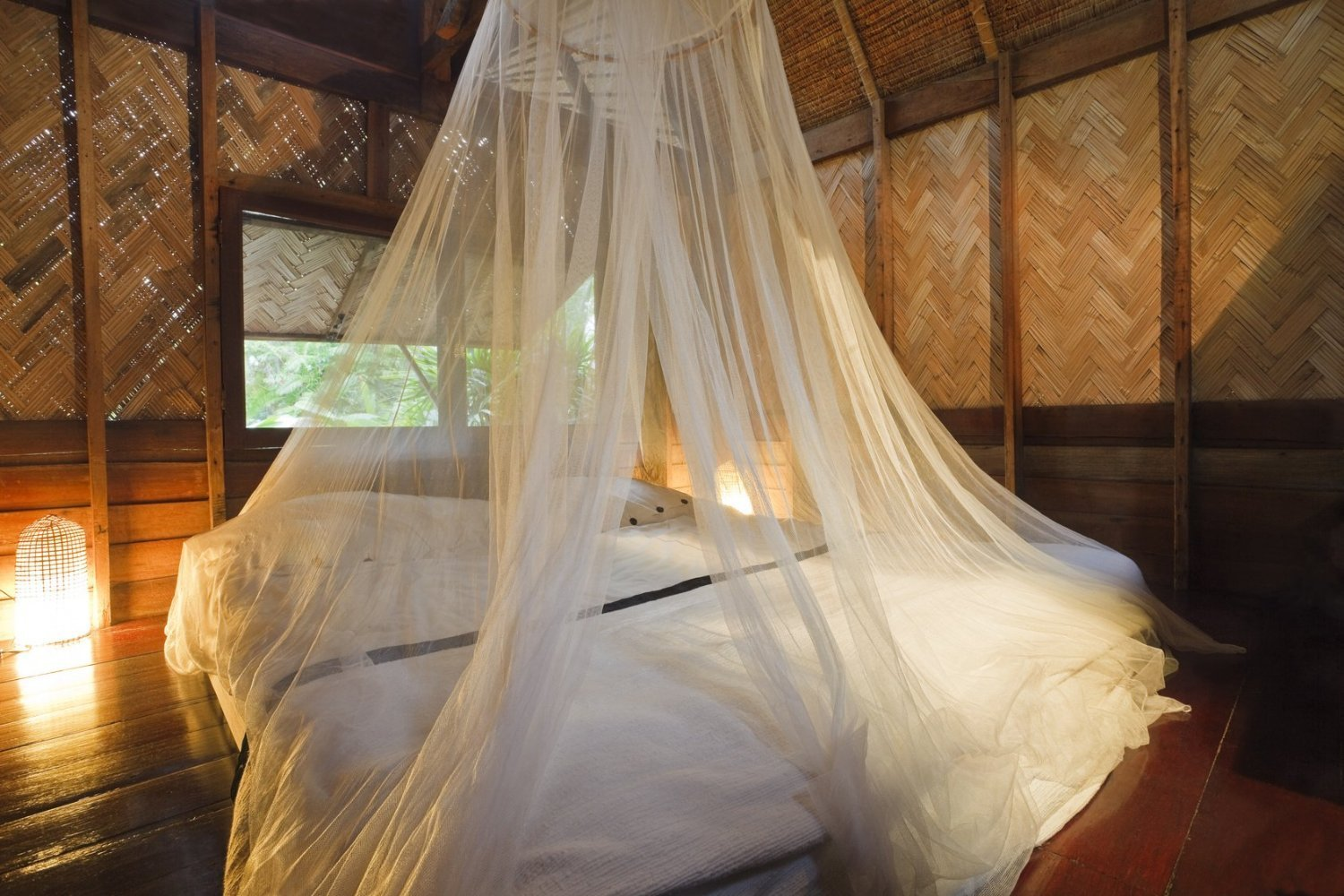 Mosquito Nets 4 U LARGE Mosquito Net Bed Canopy Maximum Insect Net Protection No Skin Irritation Deet ...  sc 1 st  Walmart.com & Nets 4 U LARGE Mosquito Net Bed Canopy Maximum Insect Net ...
