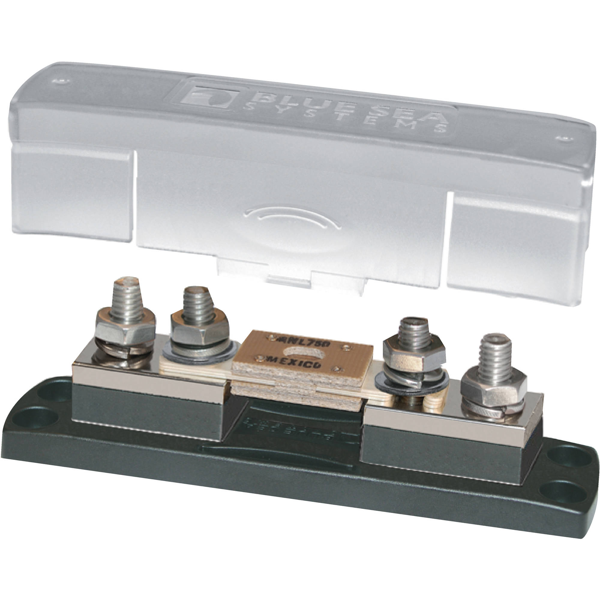 Blue Sea Systems 5503 ANL Fuse Block with Insulating Cover, 35 to 750A