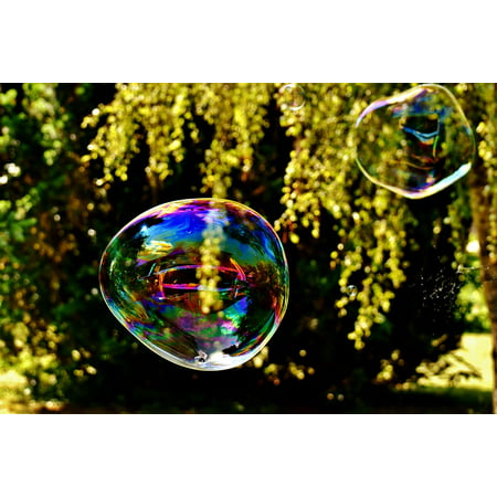 - Peel-n-Stick Poster of Large Make Soap Bubbles Huge Soap Bubble Wabbelig Poster 24x16 Adhesive Sticker Poster Print