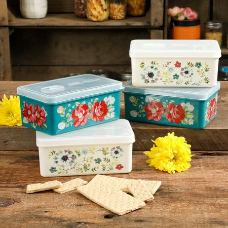 The Pioneer Woman Flea Market Food Storage Set of Now $10.50