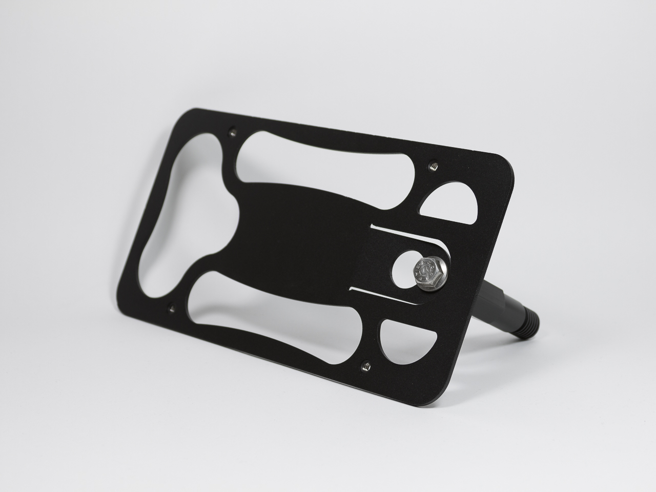 Made in USA Made of Stainless Steel /& Aluminum Installs in Seconds No Drilling 2013-2018 CravenSpeed The Platypus License Plate Mount for Volkswagen CC