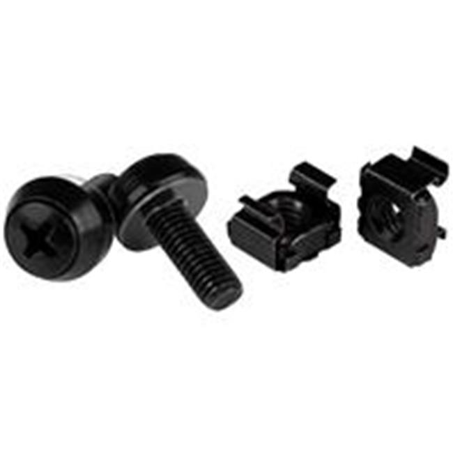 Startech. com CABSCREWM62B M6 x 12 mm.  - Screws and Cage Nuts