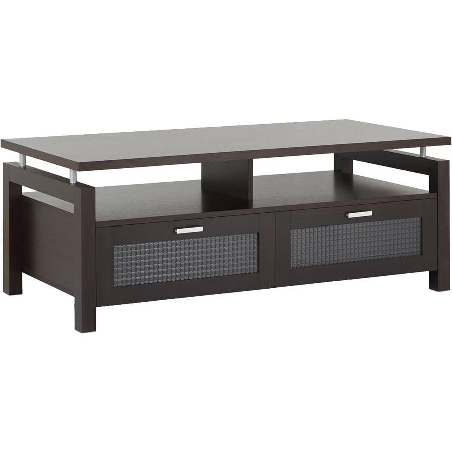 Furniture of America Gueston Contemporary Style Coffee Table, Espresso