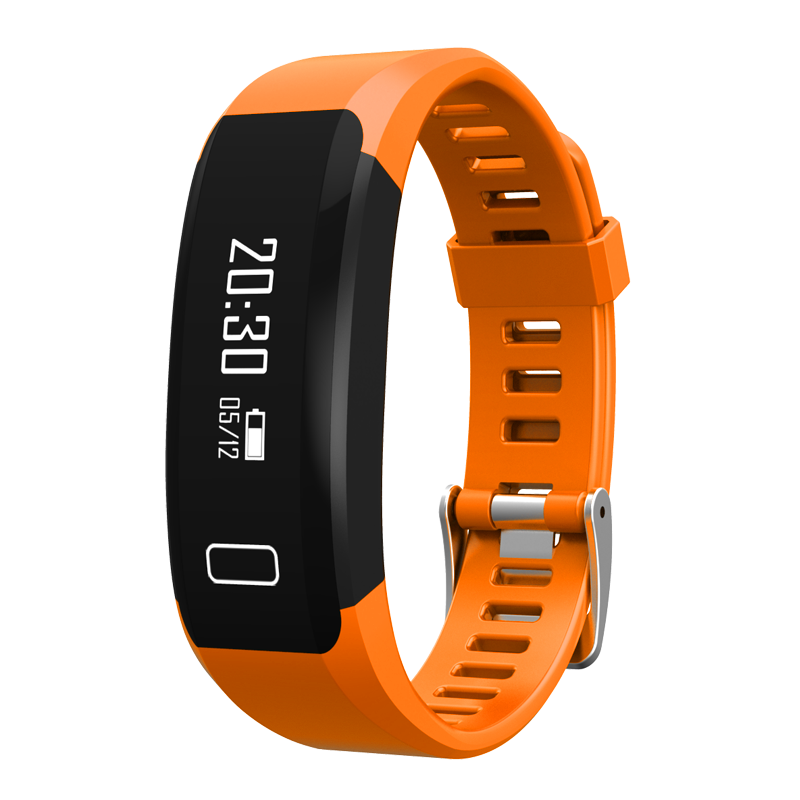 TechComm Y28 Water Resistant Fitness Activity Tracker with Heart Rate Monitor