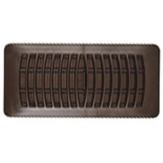 RG1451 Plastic Register Brown, 2.25 x 12 In.