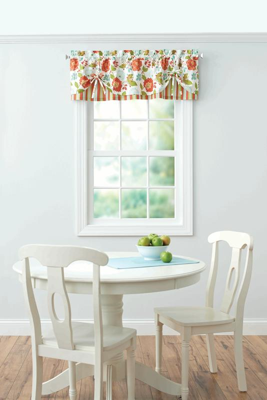 Attractive Better Homes And Gardens Jacobean Stripe Kitchen Kitchen Curtains, Set Of 2  Or Valance