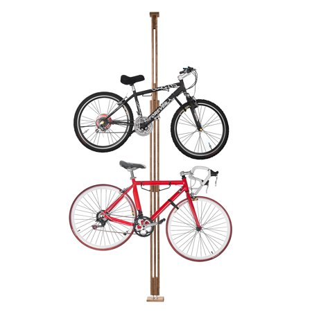 Rad Cycle Woody Bike Stand Bicycle Rack Storage Or Display Holds Two Bicycles