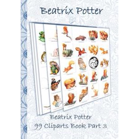 Beatrix Potter 99 Cliparts Book Part 3 ( Peter Rabbit ) - eBook Beatrix Potter Mrs Rabbit