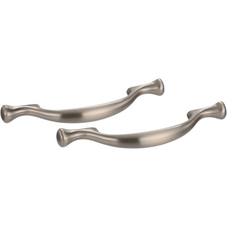 Chapter Cabinet Pull, 2-Pack, Satin Nickel