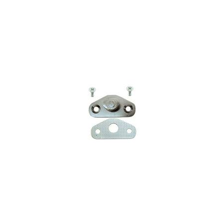 MACs Auto Parts  51-37265 Door Latch Striker Plate - Date Coded 11-67