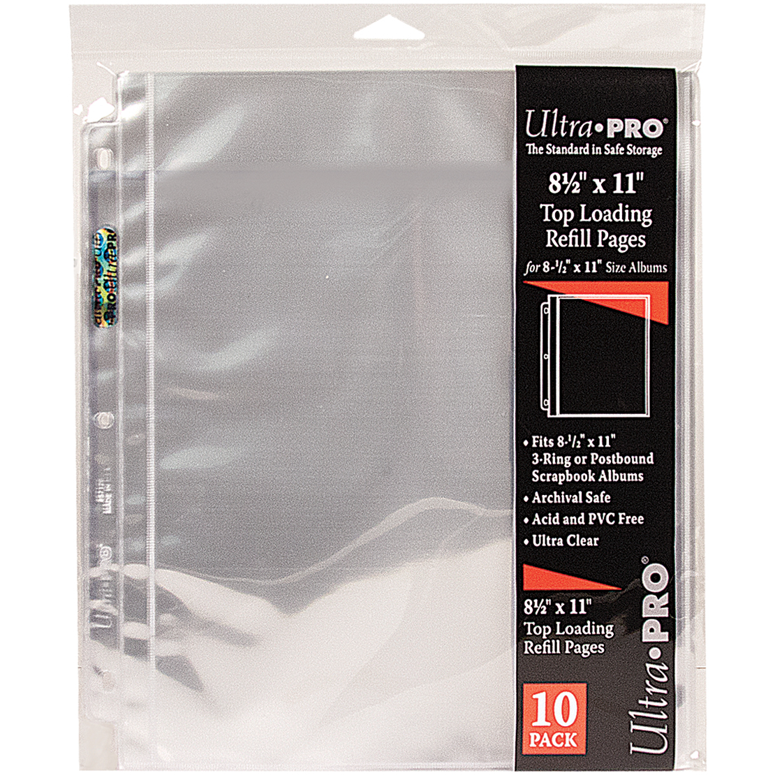 """Pinnacle Frames 8-1/2"""" x 11"""" Sheet Protector"""