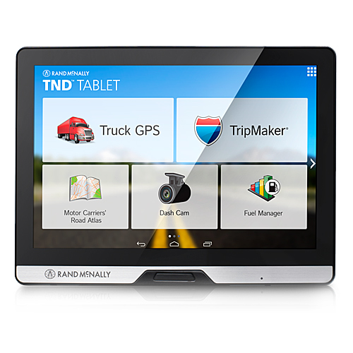 "Rand McNally 0528013076 IntelliRoute 8"" TND Tablet with Built-in Dash Cam"