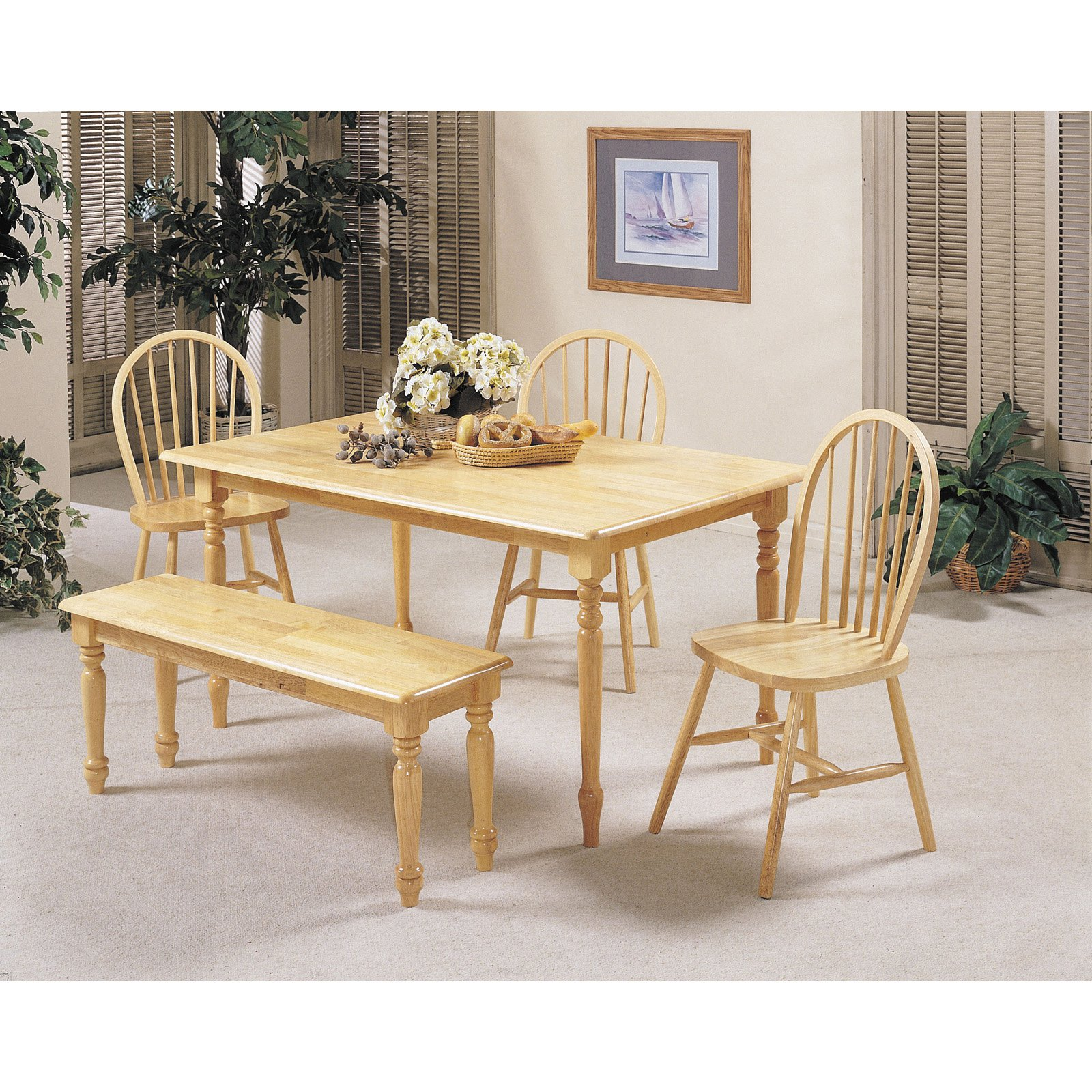 ACME Fabrice Dining Table, Natural