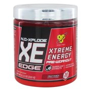 BSN - N.O.-Xplode XE Edge Xtreme Energy Pre-Workout Fruit Punch - 11.11 oz.