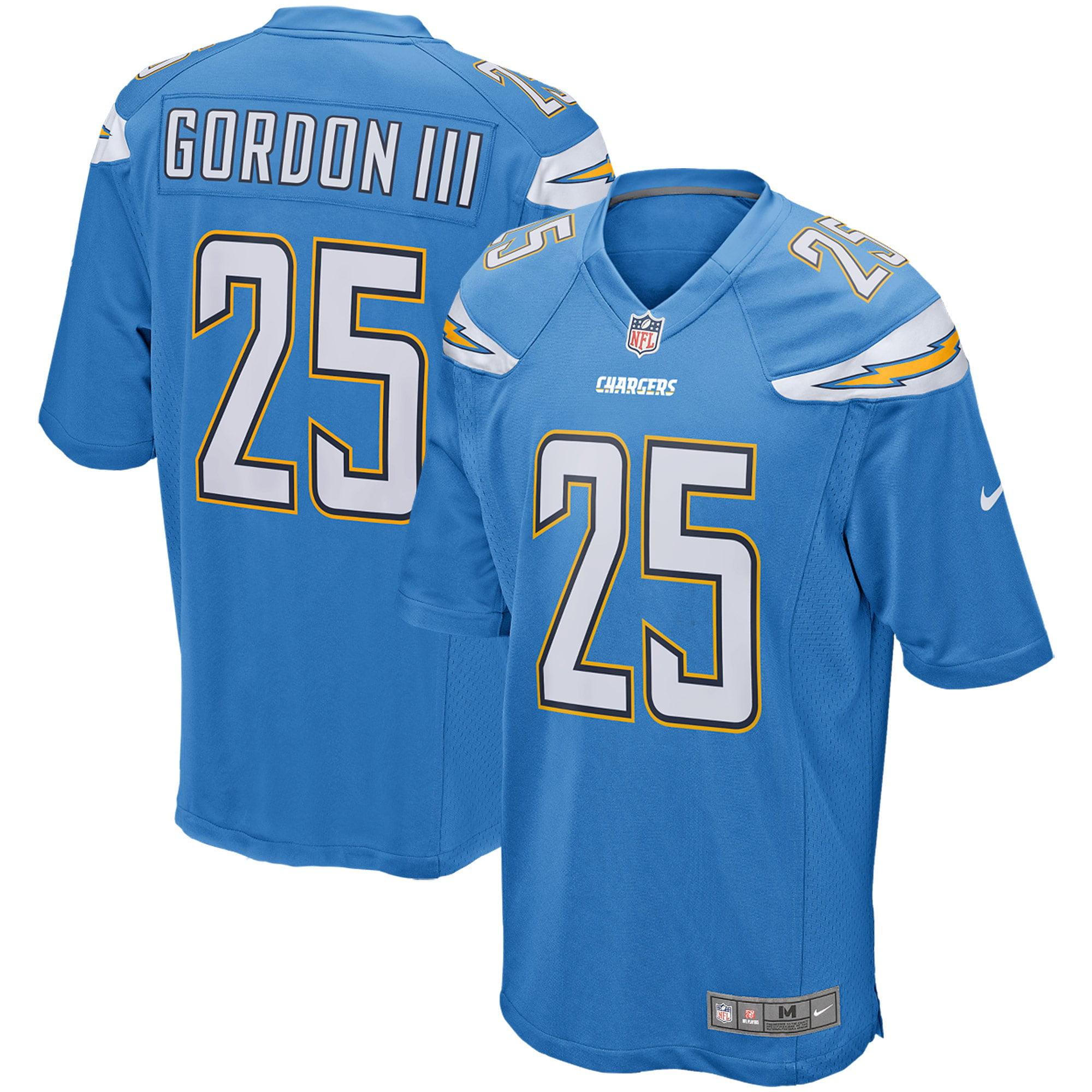 Melvin Gordon Los Angeles Chargers Nike Game Player Jersey - Powder Blue - Walmart.com