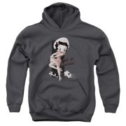 Betty Boop Out Of Control Big Boys Pullover Hoodie