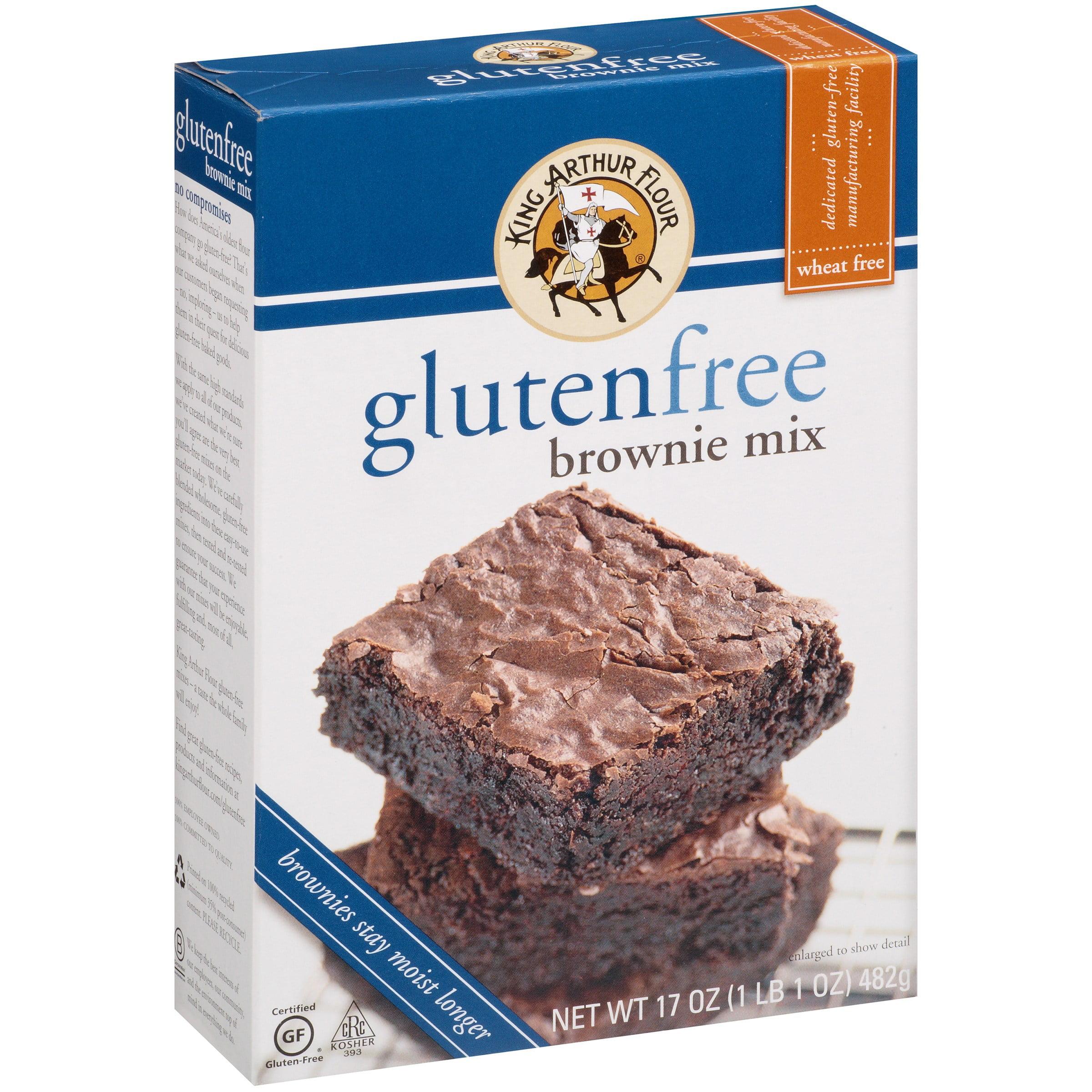 King Arthur Gluten Free Flour Brownie Mix, 17.0 OZ