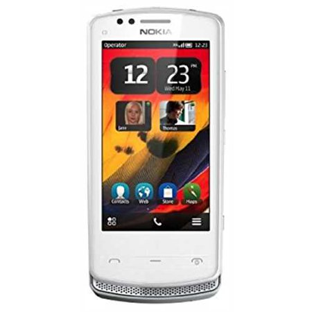 Refurbished Nokia 700 Unlocked Gsm Phone With Touchscreen  5 Mp Camera  Symbian Belle Os  And Nfc  White