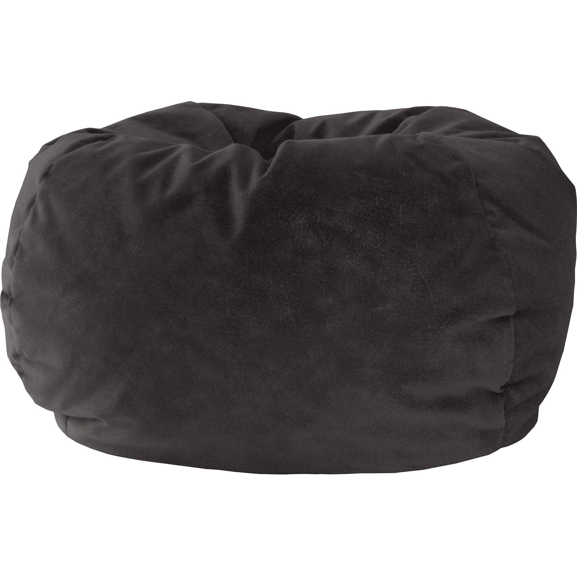 Hudson Industries Inc Extra Large Microfiber Suede Bean Bag