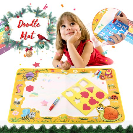 Doodle Mat Magic Water Drawing Painting Child Play Learning Educational Toys For Kids Toddler