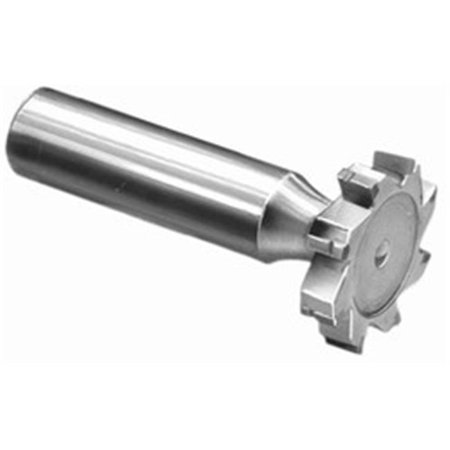 Super Tool 97020404 0.5 in. dia. x 0.125 in. Carbide Tipped Keyseat Cutter for Steel, Straight Tooth, American Standard No. 404
