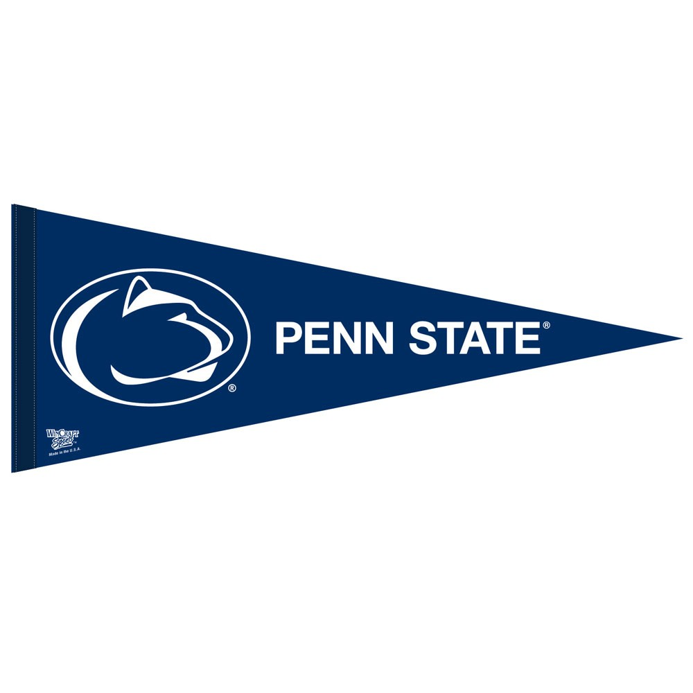 Penn State Nittany Lions Official NCAA 12 inch x 30 inch  Felt Pennant by WinCraft