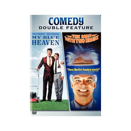 My Blue Heaven / The Man with 2 Brains (DVD)