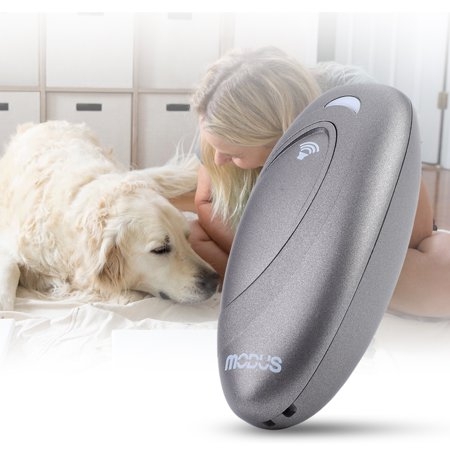 Yosoo Smart Dog Anti-barking Device Portable Bark Trainer Control Remote Training Tool Indoor Use
