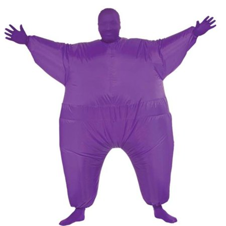 Costumes for all Occasions RU887114 Inflatable Skin Suit Adult Pur](Inflatable Suit)