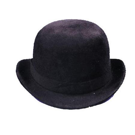 Derby Hat Black Felt Large](Derby Halloween 2017)