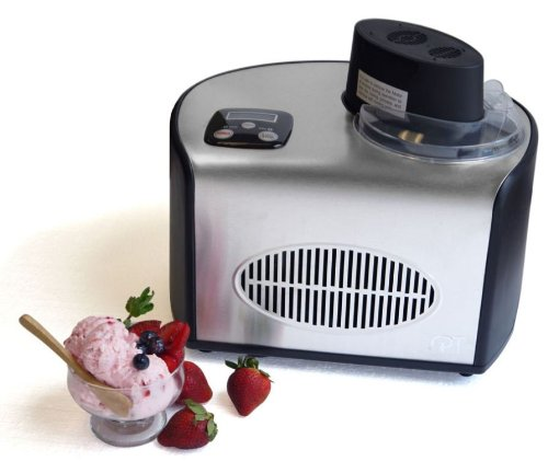 KI-15 Ice Cream Maker (1.5 Qts) by Sunpentown by