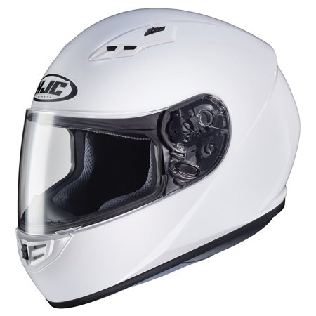 HJC CS-R3 Solid Motorcycle Helmet White