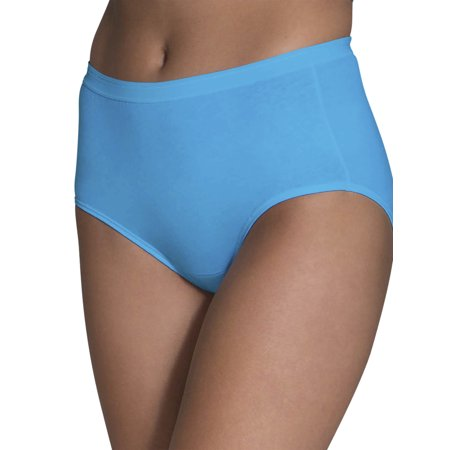 Women's Cotton Brief Panties, 6 Pack