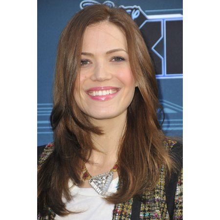 Mandy Moore At Arrivals For Disney Xds Tron Uprising Press Event   Reception Disneytoon Studiosdisney Television Animation Glendale Ca May 12 2012 Photo By Dee Cerconeeverett Collection Photo Print