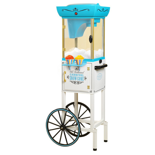 "Nostalgia SCC399 48"" Tall Vintage Collection Snow Cone Cart"