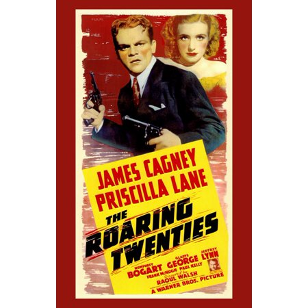 The Roaring Twenties (1939) 11x17 Movie Poster](Roaring Twenties Themed Centerpieces)
