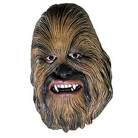 Star Wars Chewbacca 3/4 Vinyl Mask-Child Halloween Costume - Chewbacca Halloween Costumes