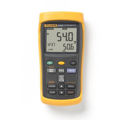 Fluke 54 II B Dual Input Digital Thermocouple Thermometer...