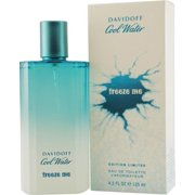 Cool Water Freeze Me By Davidoff For Men Edt Spray 4.2 Oz (Limited Edition)