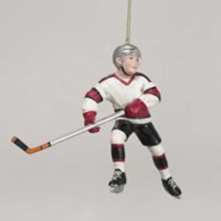 Club Pack of 12 Skating Ice Hockey Boy Christmas Ornaments 4.5