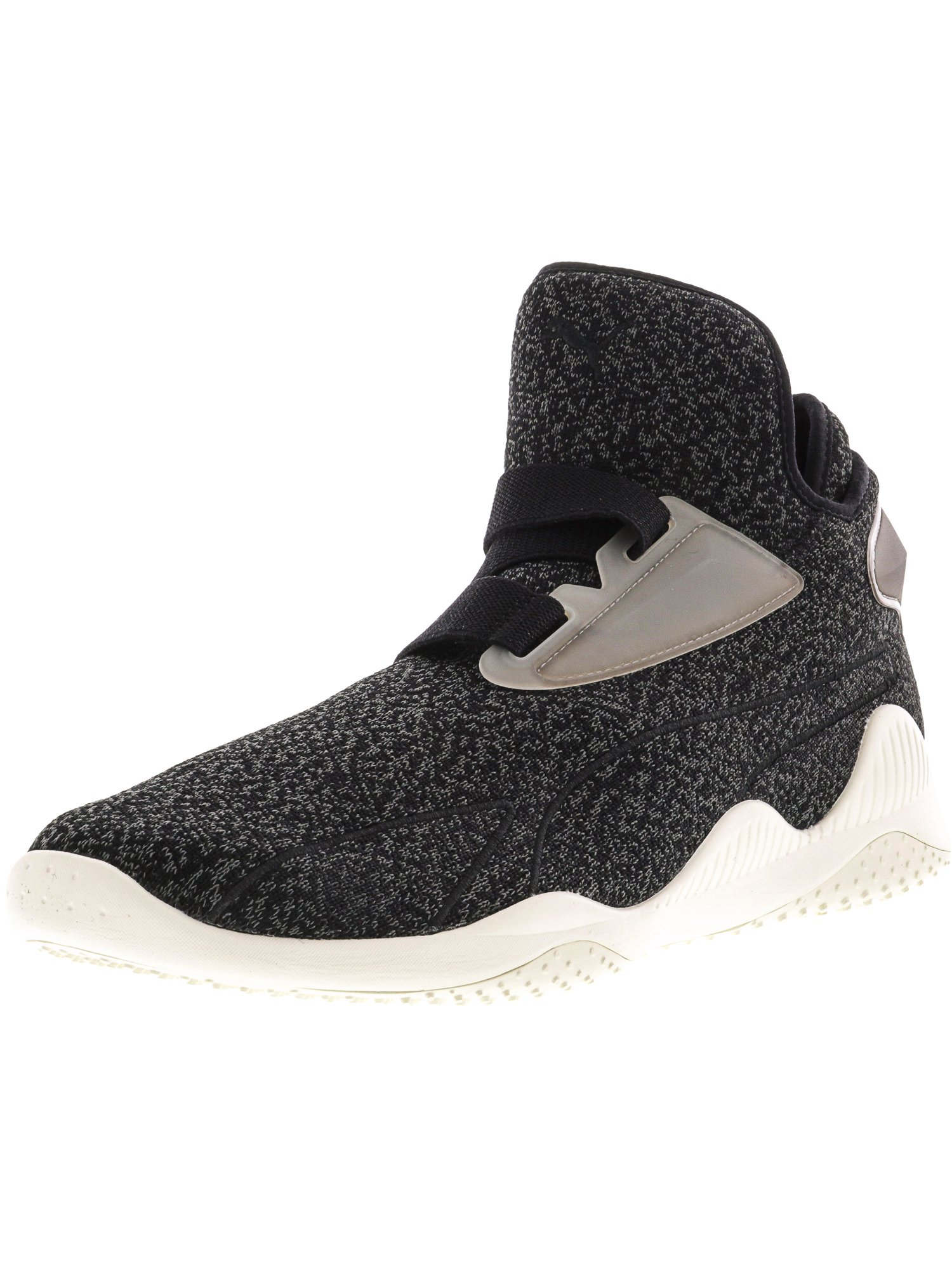 Puma Men's Mostro Sirsa Elemental Black / Dark Shadow Whisper White Ankle-High Fashion Sneaker - 7M