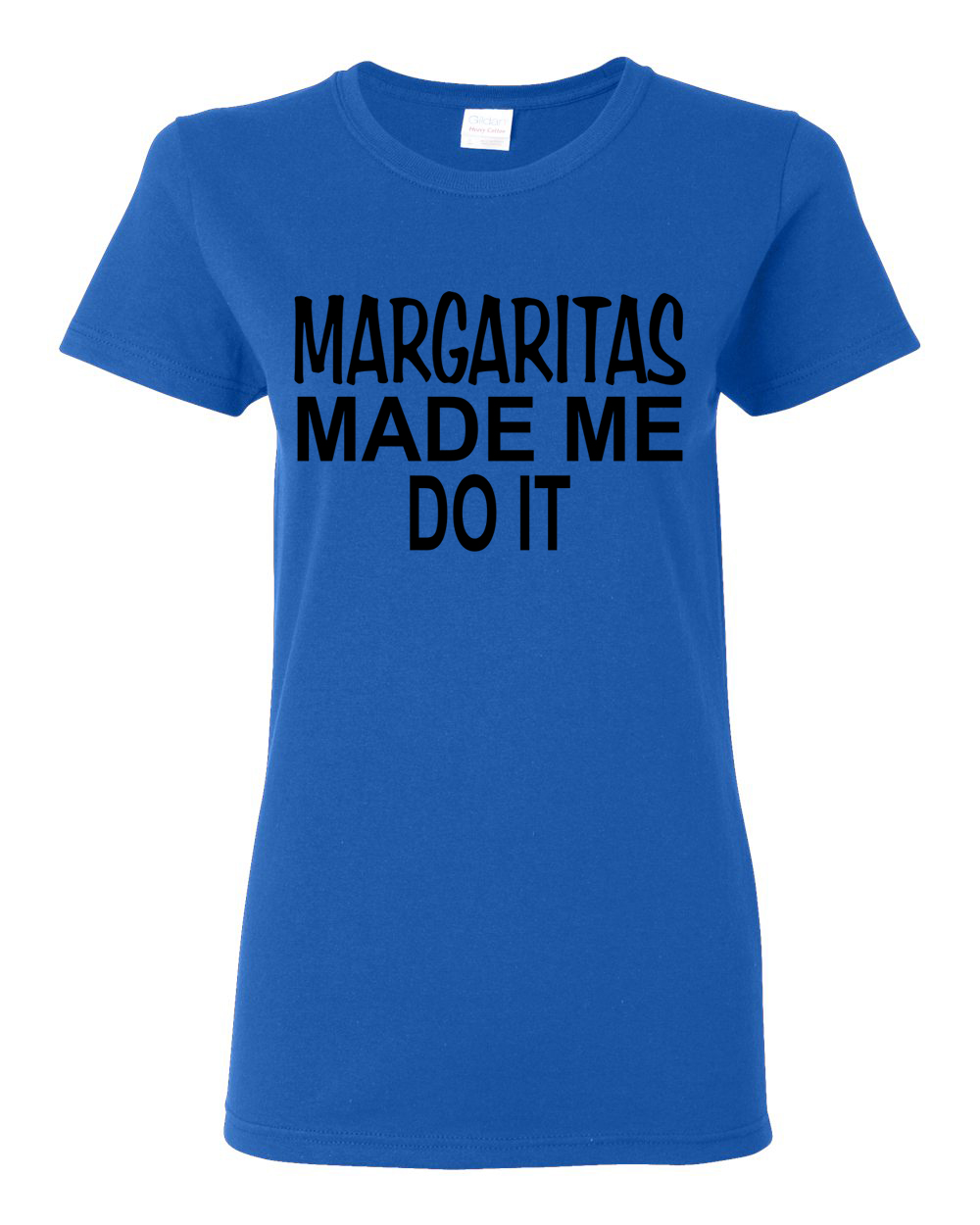 Custom Apparel R Us Margaritas Made Me Do It Funny Shirt Womens T